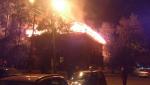 Дом, горевший ночью в центре Томска, является памятником архитектуры