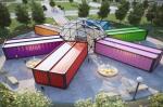 В России начнут строить кинотеатры из грузовых контейнеров