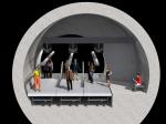 Бюро NBBJ предложило заменить поезда лондонского метро траволаторами