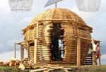 Архитектурная инсталляция «Шар» в экопарке