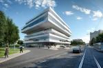 В Москве открылся бизнес-центр по проекту Захи Хадид