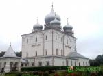 В Хутынском монастыре завершилась реставрация фасадов Спасо-Преображенского собора