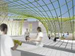 nARCHITECTS проектируют «городской пляж» для PS1