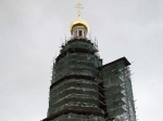 Колокольня Новодевичьего монастыря скоро скинет леса