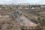 Снесены две казармы на территории бывшего ГПЗ-4