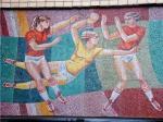 Мозаику на стадионе «Енисей» после протеста красноярцев решено сохранить