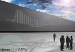 Фасад Аэрокосмического центра в Бристоле с изображением самолета Concorde получил первую премию конкурса дизайна ArtMe