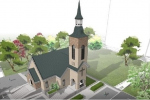 Мэрия запретила лютеранской общине строить кирху в парке Блюхера