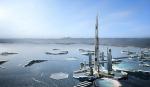 Новая стратегия развития Токио: небоскреб высотой в одну милю на воде залива