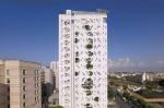 Пиксельный дом: на Кипре построили здание-перфокарту