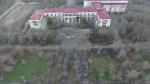 Разрушенный памятник архитектуры Дом культуры ВГТЗ попал в камеру квадрокоптера