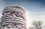 В Иране предложили построить цилиндрический дом из прозрачных дисков