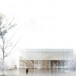 Определены три финалиста конкурса на новое здание для датской Школы архитектуры