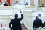Депутаты попросили губернатора запретить строительство высотки на Институтском пр.