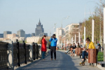 Как благоустроили Новодевичью и Фрунзенскую набережные