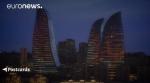 Символ нового Баку – башни, которые горят