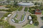 Как будет выглядеть новый спортивный парк у «Лужников»