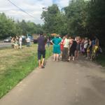 Рядом с усадьбой Кусково начались столкновения местных с полицией