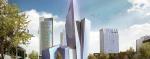 В центре Вильнюса построят небоскреб-кристалл