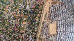 «Пейзажи неравенства»: различие между богатыми и бедными на уровне среды обитания