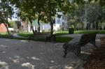 Обновленная территория Бахрушинского музея