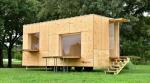 Jyubako: Кенго Кума спроектировал мобильный домик для кочевников