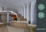 Интерьер офисного здания. Визуализация:  © Александра Борисова (архитектурное бюро «Арх-Деко»)