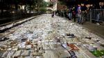 Река букв: целую улицу в Торонто «вымостили» книгами