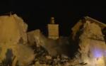 Опубликовано видео обрушения древней церкви при землетрясении в Италии