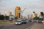 Астана: дома, парки, транспорт