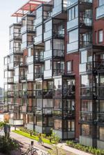 Фасад с балконами Lumon. Фотография с сайта www.lumon.com