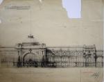 Ленточные окна и скульптура на крыше: Каким мог стать Киевский вокзал