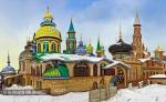 Вселенское яблоко раздора: Храму всех религий грозит опасность из-за спора «наследников» Ханова