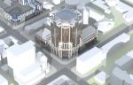 Высотность торгово-административного здания в Перми предложено увеличить до 25 этажей