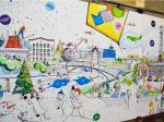 Омские мечтатели-урбанисты представили город будущего со счастливыми жителями
