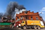 Дым над Кабаном: как пожарные 4 часа бились за завод Крестовниковых
