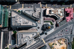 Москва с высоты полета дрона