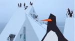 Рай для пингвинов: шедевр современной архитектуры стал героем мультфильма