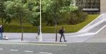 Брусчатка снова появится возле «Краснопресненской» и «Баррикадной» после работ по программе «Моя улица»