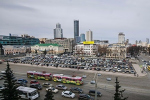 В Екатеринбурге на площади 1905 года хотят организовать сквер с летним кафе