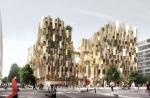 Японское архбюро Kengo Kuma разработало проект эко-отеля в Париже