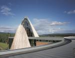 Здание парламента Лапландии в Карасйоке. Фотография © RHEINZINK