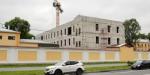 Снесенное здание на Введенском воссоздают бетонно-пенобетонным