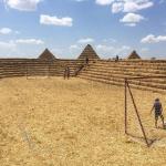 В ставропольском селе построили соломенную «Зенит-Арену» за 41 тысячу рублей