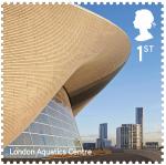 Почта Великобритании выпустила серию марок, посвящённую новейшей архитектуре