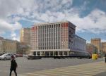 Началась реконструкция бывшей АТС на Зубовской площади под размещение гостиницы