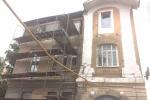 В Самаре ремонтируют фасад старинного флигеля дома Зеленко