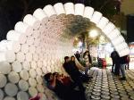 Вернуть улицу себе: волна из пластиковых вёдер в Мехико