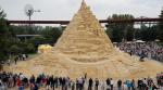 Самый высокий в мире песчаный замок