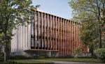 Для облицовки фасадов клубного дома «Чехов» использован юрский мрамор, поставленный компанией Solnhofen Stone Group.